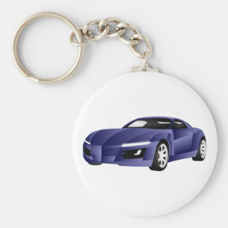Sportscar Keychains
