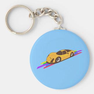Sportscar Key Chains