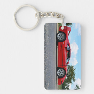 Sportscar keyring key chains