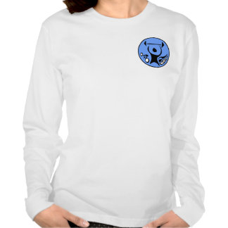 Sportscentre logo Ladies Long Sleeve (Fitted) T-shirt