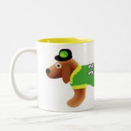 sportsdog Two-Tone coffee mug