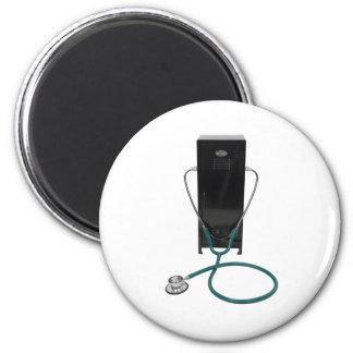 SportsHealth053109 2 Inch Round Magnet