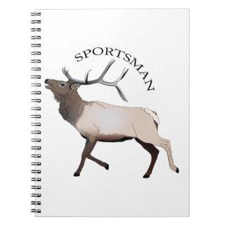SPORTSMAN SPIRAL NOTEBOOK