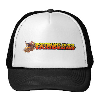 SPORTSMAN'S CHOICE LARGE LOGO BACK MESH HATS