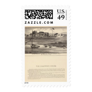Sportsmans Home, Squan Beach, NJ Postage Stamps