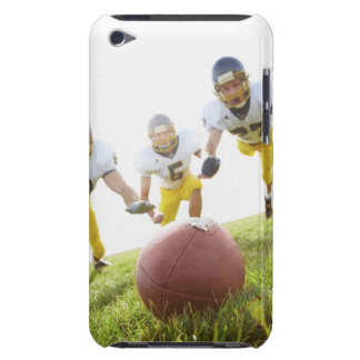 sportsmen playing with a rugby ball Case-Mate iPod touch case