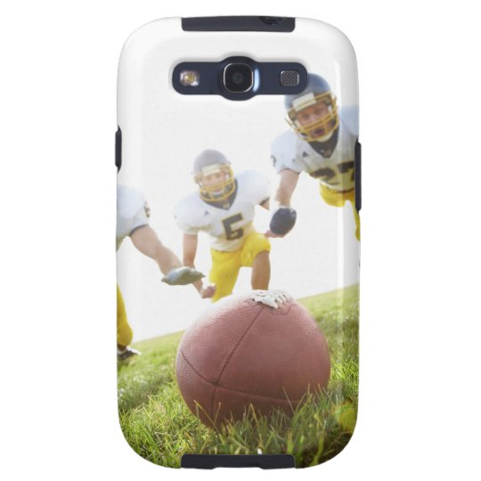 sportsmen playing with a rugby ball galaxy s3 cover
