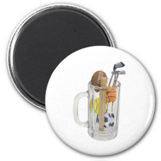 SportsSpectatorKit082909 2 Inch Round Magnet