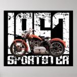 Sportster 1957 póster