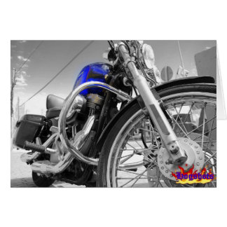 Sportster Blues Greeting Card