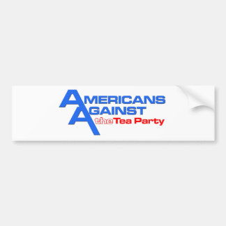 Sporty AATTP logo on White Car Bumper Sticker
