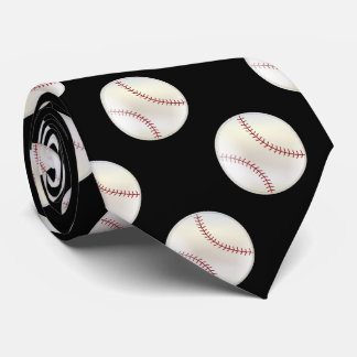 Sporty Baseball |  DIY Background Color Tie