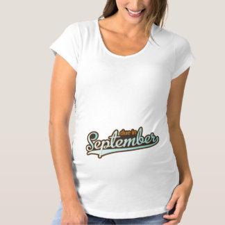 Sporty Baseball September T-shirts