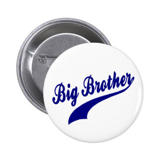 Sporty Big Brother 2 Inch Round Button