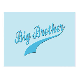 Sporty Big Brother Postcard