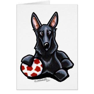 Sporty Black GSD Card