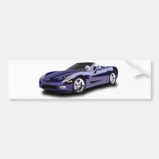 Sporty Car Bumper Stickers