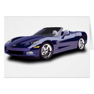 Sporty Car Card