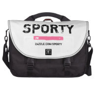 Sporty Commuter Laptop Bag