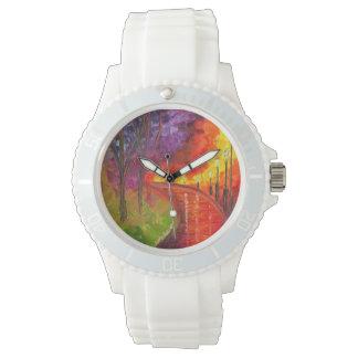 Sporty Custom Jessilyn Park Designed Watch