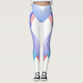 Sporty Dancers Fashion Trendy Geometric Chic Pants