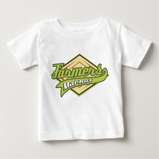 Sporty Farmers Market Baby T-Shirt