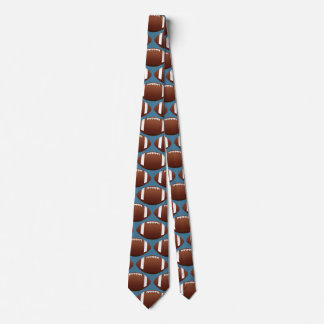 Sporty Federal Blue Football Tie