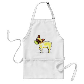 Sporty Frenchie Adult Apron