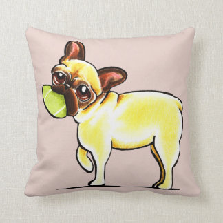 Sporty Frenchie Pillow