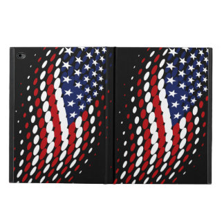 Sporty Halftone USA American Flag Powis iPad Air 2 Case