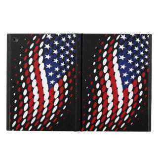 Sporty Halftone USA American Flag Powis iPad Air 2 Case