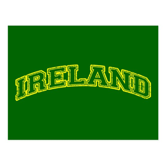 Sporty Ireland Postcard
