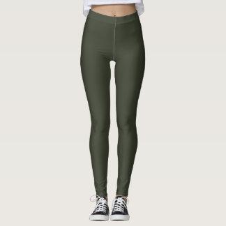 Sporty Log Cabin Grey Fitness Fashion Leggings