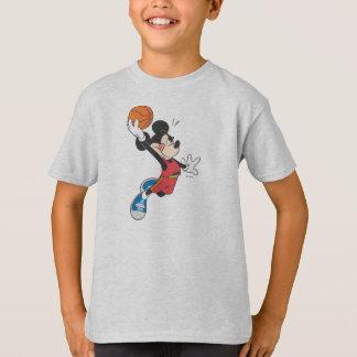Sporty Mickey | Dunking Basketball T-Shirt