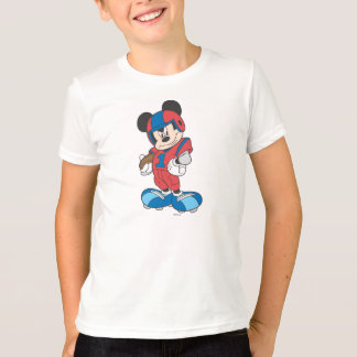Sporty Mickey | Football Pose T-Shirt