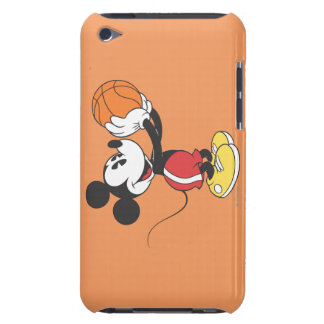 Sporty Mickey | Holding Basketball iPod Case-Mate Case