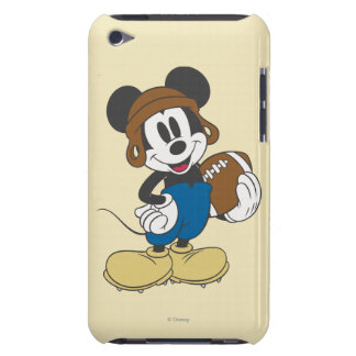 Sporty Mickey | Holding Football iPod Touch Cover