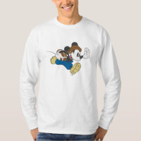 Sporty Mickey | Running with Football T-Shirt