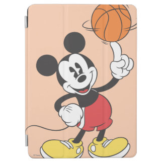Sporty Mickey | Spinning Basketball iPad Air Cover