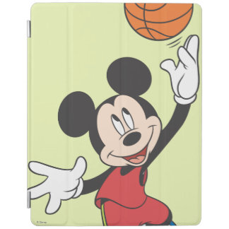 Sporty Mickey | Throwing Basketball iPad Smart Cover
