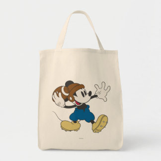 Sporty Mickey | Throwing Football Tote Bag