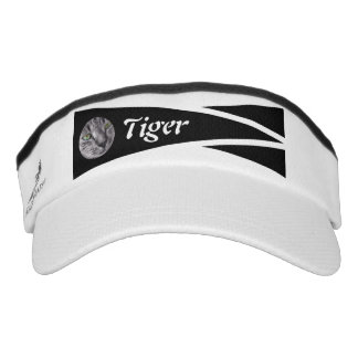 Sporty photo visor with name