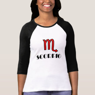 SPORTY RED SCORPIO TSHIRT