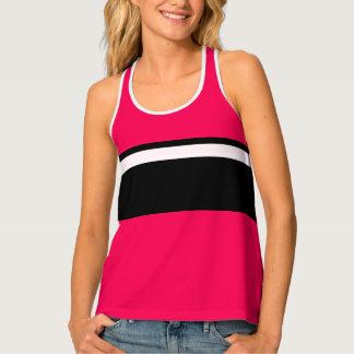 Sporty Rose Pink Gym Running CricketDiane Tank Top