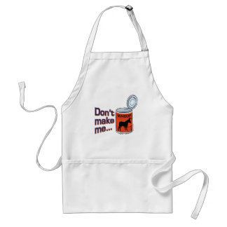 Sporty Slang - Don't Make Me Open Up a Can of... A Adult Apron
