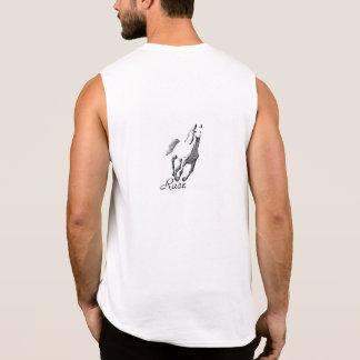 Sporty sleeveless shirt for men