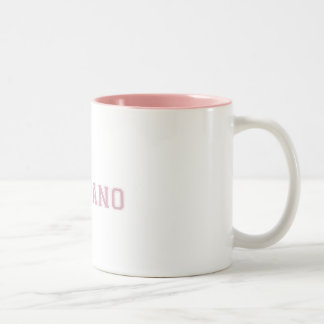 Sporty Soprano Two-Tone Coffee Mug