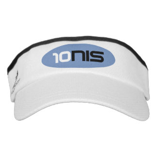 Sporty sun visor cap for tennis player coach headsweats visor