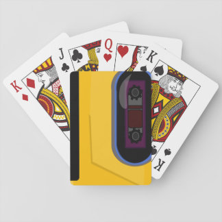 Sporty Tape Player Playing Cards