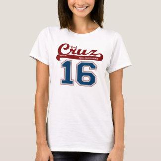 Sporty Ted Cruz for President '16 T-Shirt